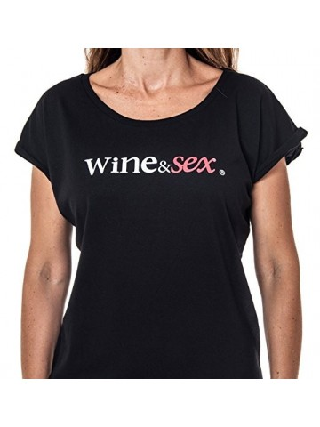 Wine&Sex Tintilla - Women´s Wide Neck - S