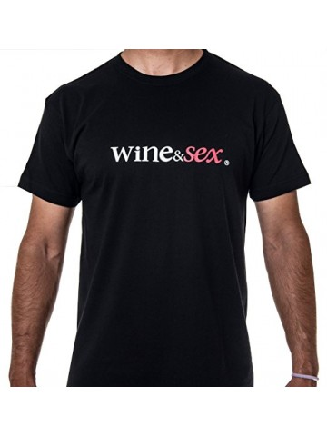 Wine&Sex Listán - Men´s Round Neck -S