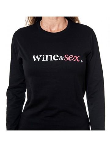 Wine&Sex Negramoll - Camiseta mujer - S