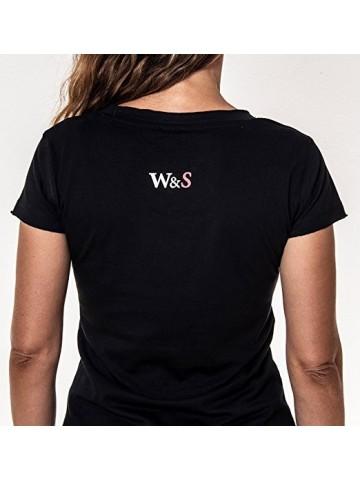 Wine&Sex Malvasía - Camiseta mujer, escote en V - S