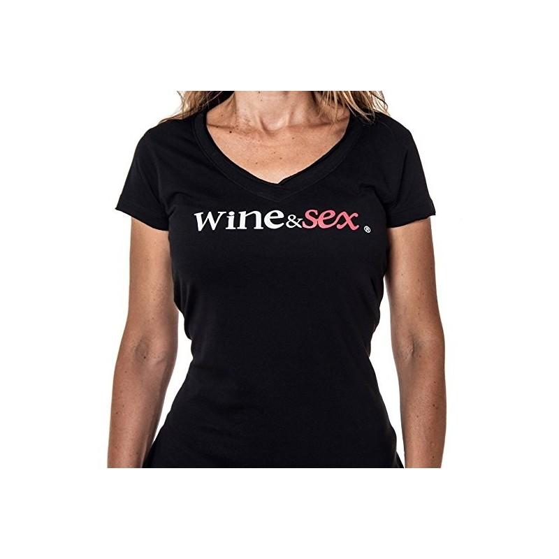 Wine&Sex Malvasía - Women´s V Neck T-Shirt - S