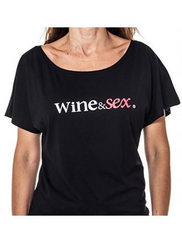 Wine&Sex Marmajuelo - Camiseta mujer, manga corta - S