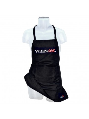 Wine&Sex Short Unisex Apron