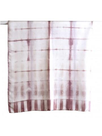 Vinotinte - Pañuelo cuadrado violeta Mujer - ITAJIME