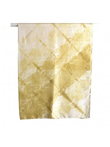 Vinotinte - Pañuelo cuadrado amarillo Mujer - Tinte Solar