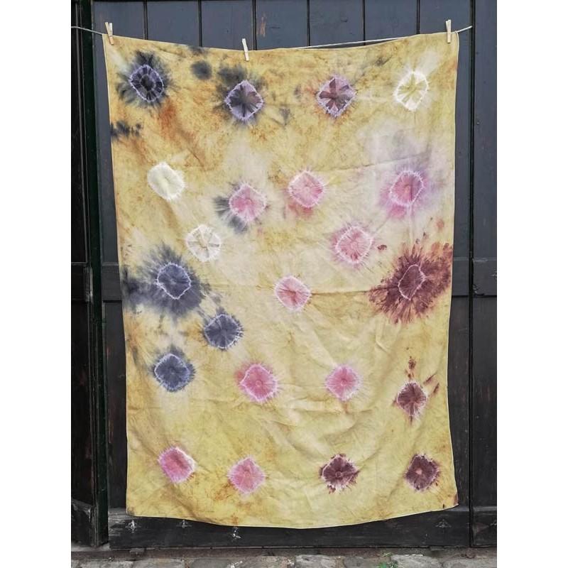 flower print silk tablecloth vinotinte shop bodegas monje