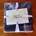 Mantel de seda artesanal 01 estampado arcoiris - Vinotinte