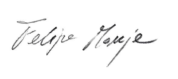 Firma Felipe Monje