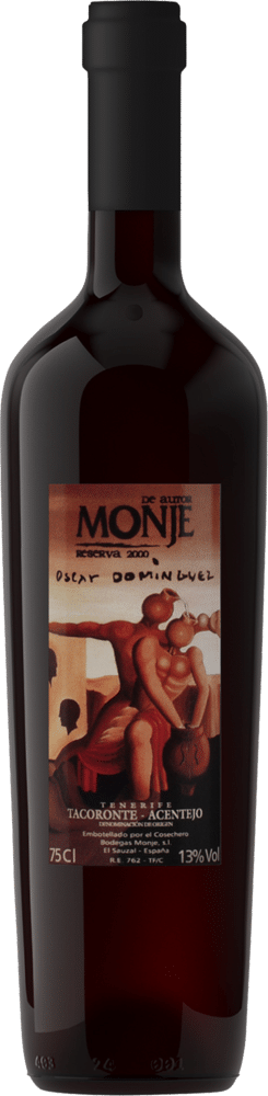 Monje de Autor Reserva 2000 Óscar Domínguez