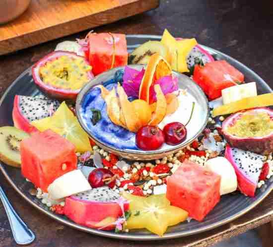 maridaje fruta con vino