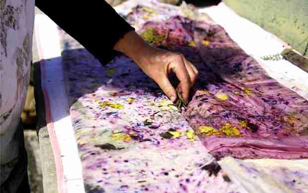 taller vinotinte con pigmentos naturales